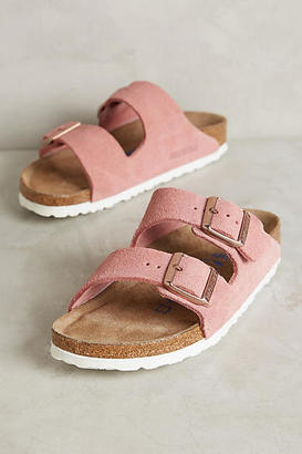 Birkenstock Suede Arizona Sandals $138 thestylecure.com