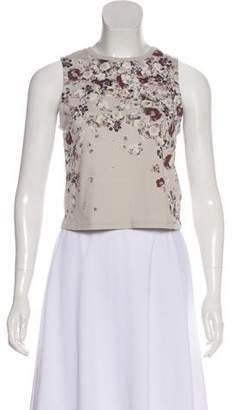 AllSaints Floral Sleeveless Top