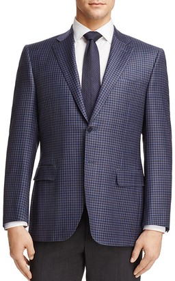 Canali Check Classic Fit Sport Coat $1,495 thestylecure.com