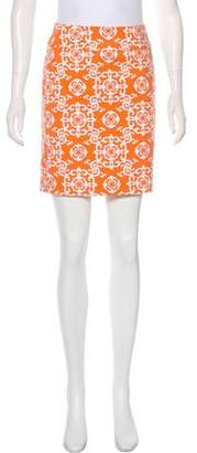 Common Projects Woman by Mini Printed Skirt