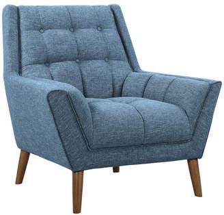 Mid-Century MODERN Armen Living Cobra Chair, Walnut