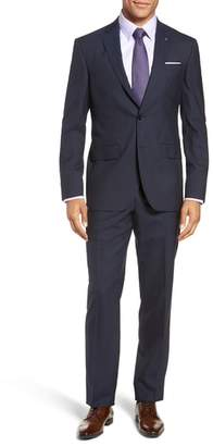 Ted Baker Jay Trim Fit Stripe Wool Suit