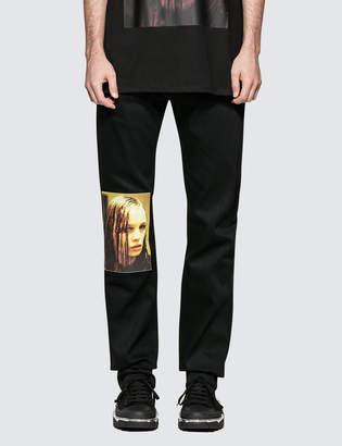 Raf Simons Wet Hair Jeans