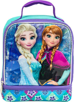 Frozen Anna & Elsa Dual-Zip Lunch Bag