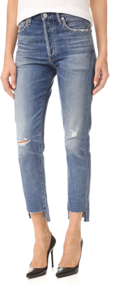 Citizens of Humanity Liya High Rise Classic Fit Jeans $278 thestylecure.com