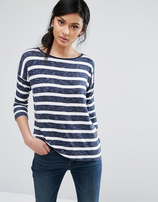 Oasis Long Sleeve Stripe T-Shirt $43 thestylecure.com