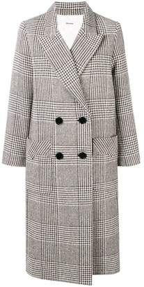 Zadig & Voltaire Zadig&Voltaire Mask Fantaisie double breasted coat