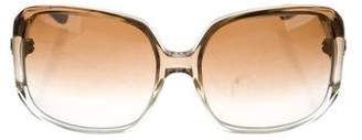 Kieselstein-Cord Valley Girl Oversize Sunglasses