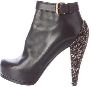 3.1 Phillip Lim3.1 Phillip Lim Leather Platform Ankle Boots