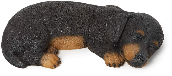 Sleeping Dachshund Figurine