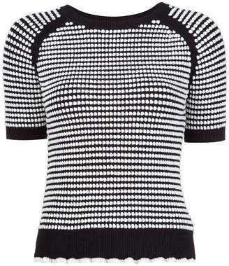 3.1 Phillip Lim shortsleeved knit top