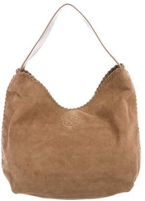Tory Burch Suede Marion Hobo