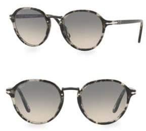 Persol Round Tortoise Sunglasses