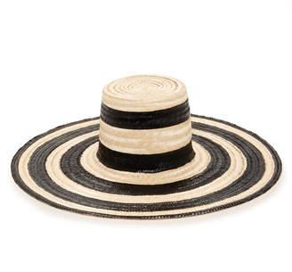 70eebd4bc1b Janessa Leone Eloise Striped Straw Hat