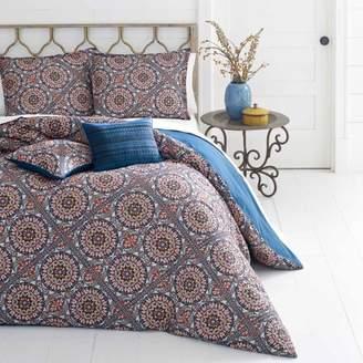 Azalea Azaela Skye Skye Sitka Suzani Dark Red Comforter Set, King