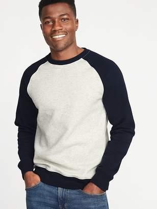 Old Navy Color-Block Raglan-Sleeve Sweatshirt for Men