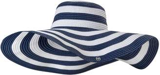 Seaspray Striped Wide Brimmed Sun Hat