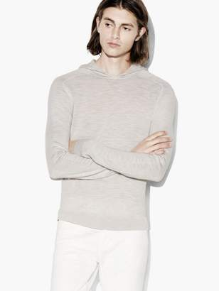 John Varvatos Pop-Over Hoodie