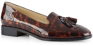 HOBBS LONDON Briar Patent Leather Loafers $335 thestylecure.com