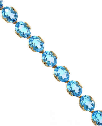 Effy Fine Jewelry 14K 27.85 Ct. Tw. Blue Topaz Necklace
