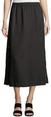Eileen Fisher Tencel® Linen Midi Skirt