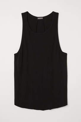 H&M Long Tank Top - Black