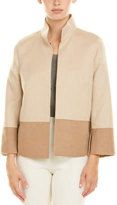 Akris Camel & Wool-Blend Jacket