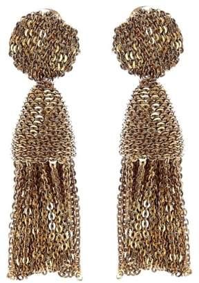Oscar de la Renta 'Classic Short' Tassel Chain Drop Earrings