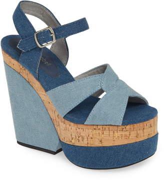 Jeffrey Campbell Wedge Platform Sandal