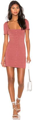 MinkPink Cherry Button Front Dress