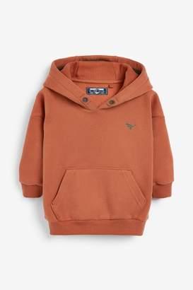 Next Boys Rust Soft Touch Hoody (3mths-7yrs) - Orange