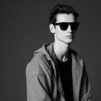 Sandro Zip-up sweatshirt with hood