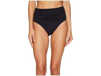 Bleu Rod Beattie Kore Shirred High Waist Bikini Bottom