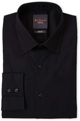 Ben Sherman Black Stretch Slim Fit Dress Shirt