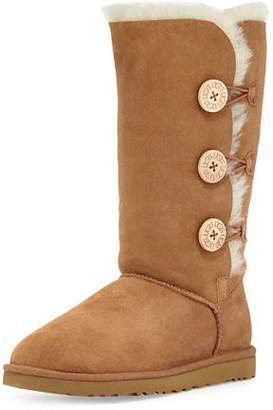 UGG Bailey Button Tall Boot, Chestnut $220 thestylecure.com