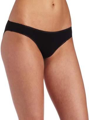 OnGossamer Women's Cabana Cotton Low -Rise Bikini Panty
