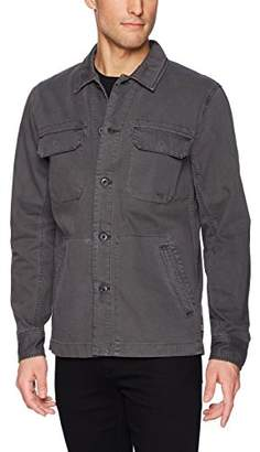 AG Adriano Goldschmied Men's Marx Cotton Herringbone Long Sleeve Field Jacket