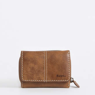 Roots Small Trifold Clutch Tribe