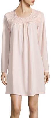 Adonna Womens Jersey Nightgown Long Sleeve