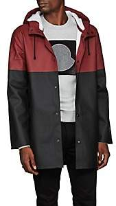 Stutterheim Raincoats Men's Stockholm Colorblocked Raincoat - Wine