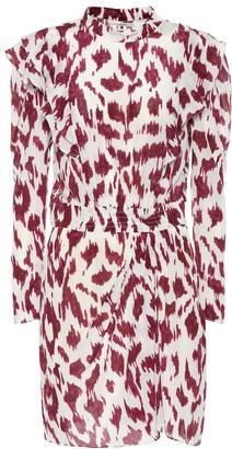 Etoile Isabel Marant Isabel Marant, étoile Yoana printed silk dress