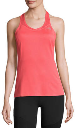 The North Face Runagade Mesh Tank Top, Cayenne Red $45 thestylecure.com