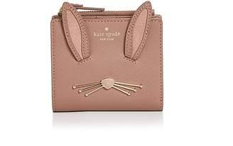 Kate Spade Adalyn Rabbit Desert Muse Bi-Fold Leather Wallet
