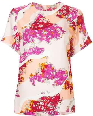 Emilio Pucci floral blouse