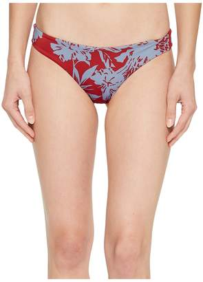 RVCA Deserted Cheeky Swim Bottom Women's Swimwear