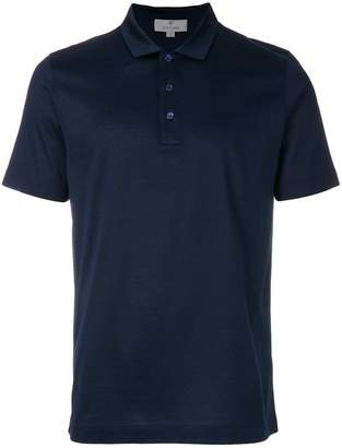 Canali short sleeve polo shirt