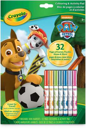 Crayola Paw Patrol Colouring and Activity Book