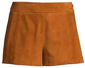 Ramy Brook Women's Adele Suede Shorts