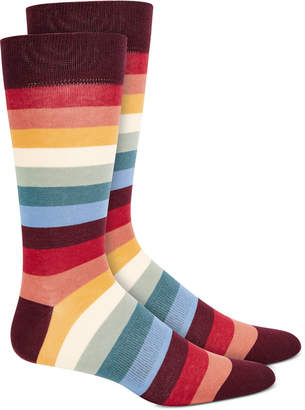 Bar III Men Striped Socks