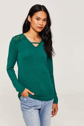 Ardene French Lace Top